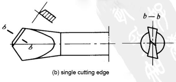flat-drills-single-cutting-edge
